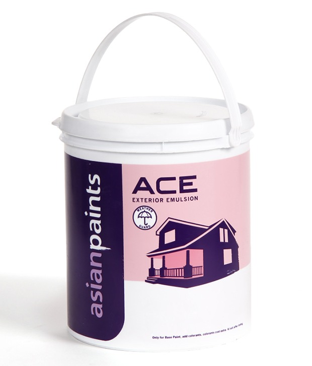 Buy Asian Paints Ace 4 Ltr White Exterior Emulsions Best Prices Industrybuying