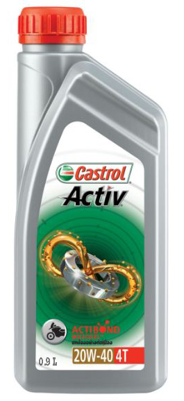 Buy Castrol Activ 4t 20w 40 Motorcycle Engine Oil 900 Ml