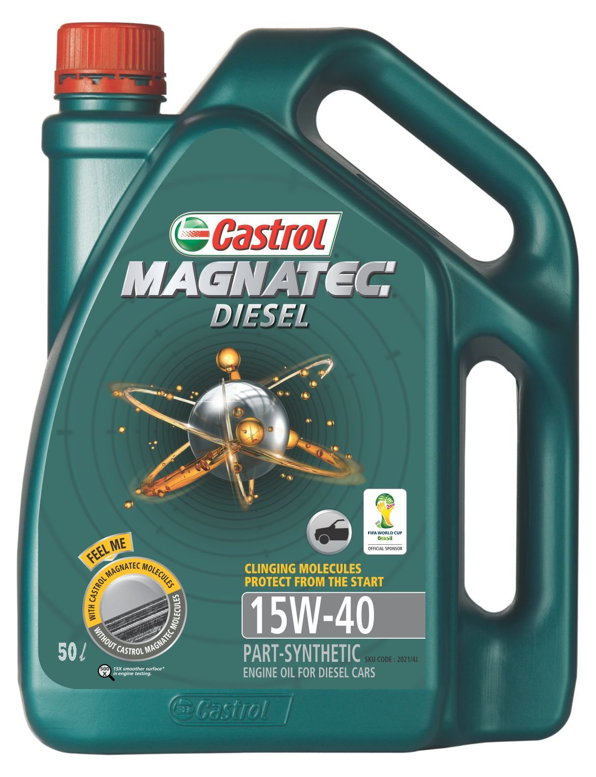 Buy castrol magnatec diesel 15w 40 passenger car motor oil for Best price motor oil