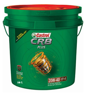 Buy castrol 50 ltr diesel engine oil crb plus best prices industrybuying Best price on motor oil