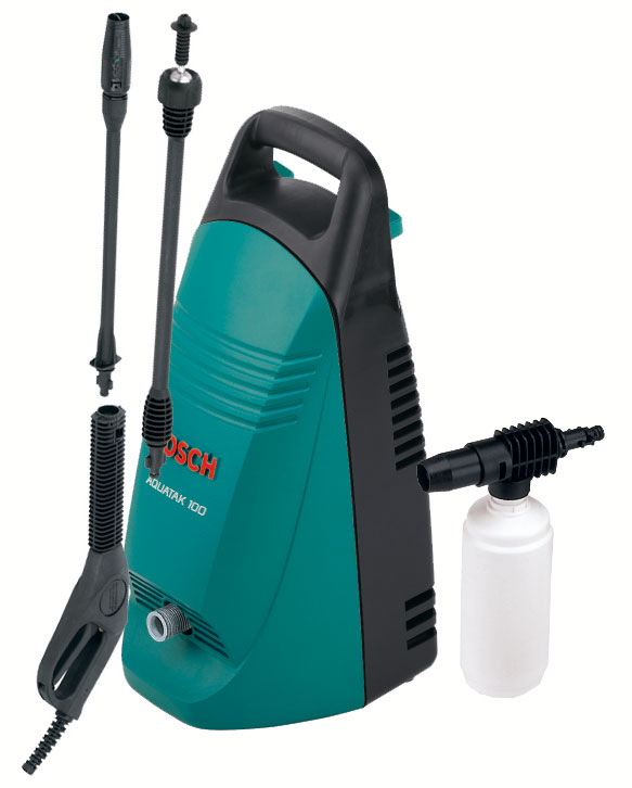 buy bosch pressure washer aquatak 100 euro best prices industrybuying. Black Bedroom Furniture Sets. Home Design Ideas