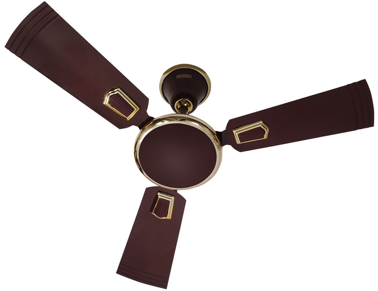 Buy Usha Allure 600 Mm Metallic Executive Brown Ceiling