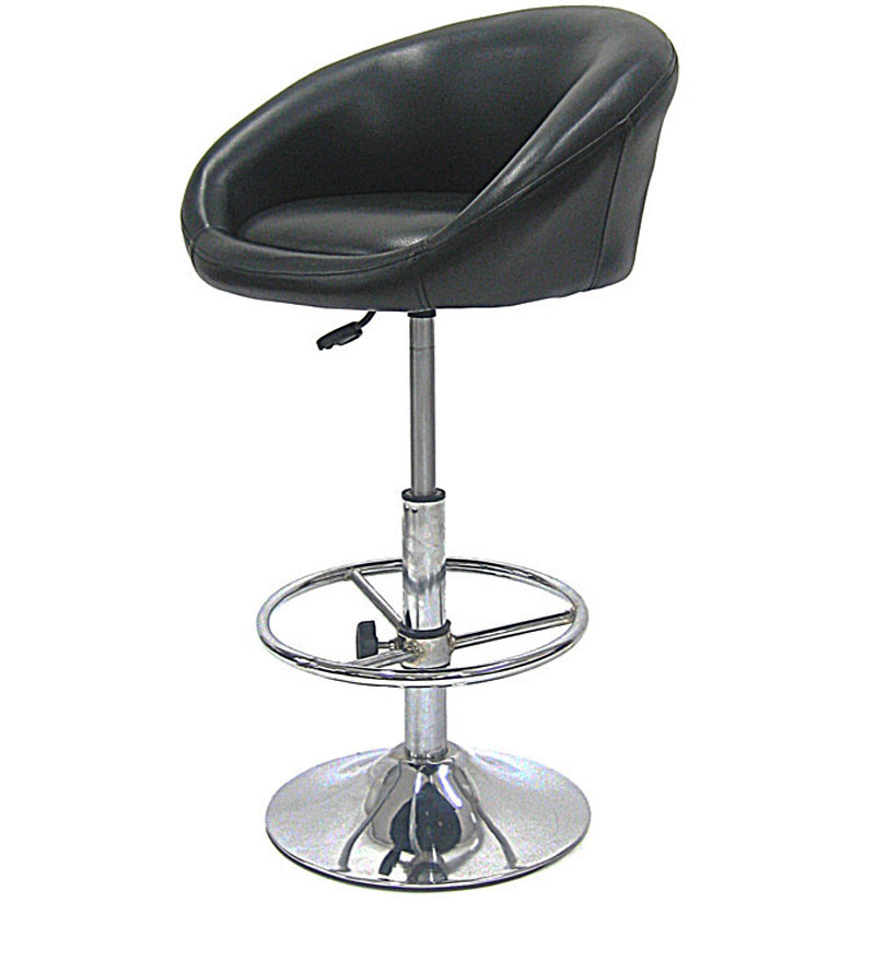 Buy Divano Dm939 Pu Leatherette Black Modular Bar Stool