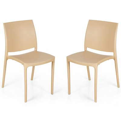 Buy Nilkamal Biscuit Novella Without Arm Cushion Chair Set Of 2 Flocnovla2kit8001 Best