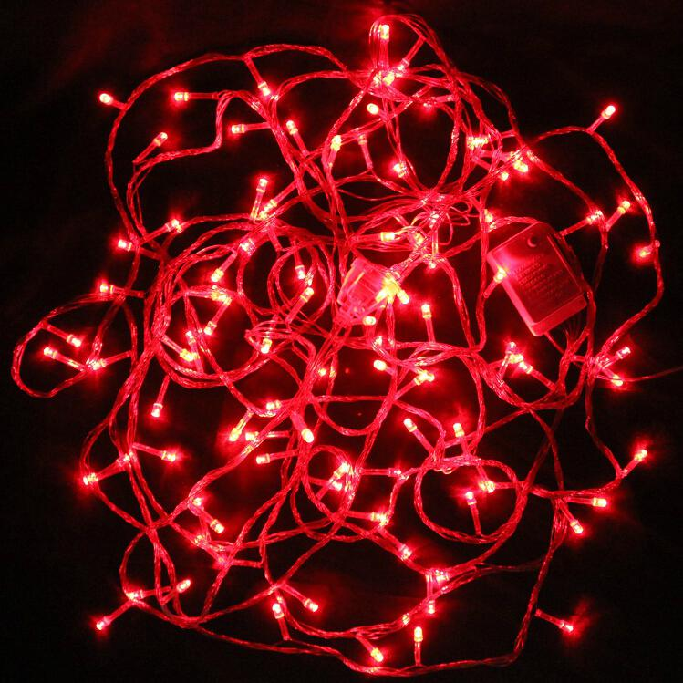 Red Bulb String Lights : Buy Led Black Wire 40 Mtr Red String Decorative Lights @ Best Prices-Industrybuying