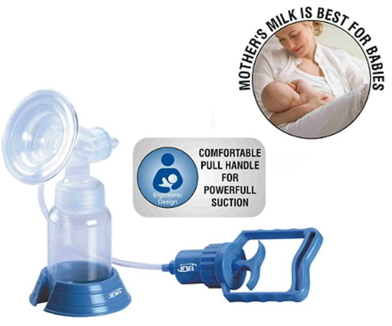 how to use manual breast pump