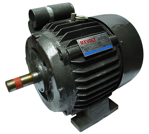 Buy Mxvolt 1 Phase 2 Hp 4 Pole Foot Mounted Motor Best