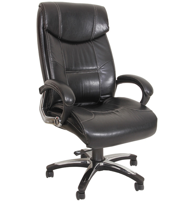 Buy Divano Black Color Modular Office Chair DM49 Best Prices Industrybuying