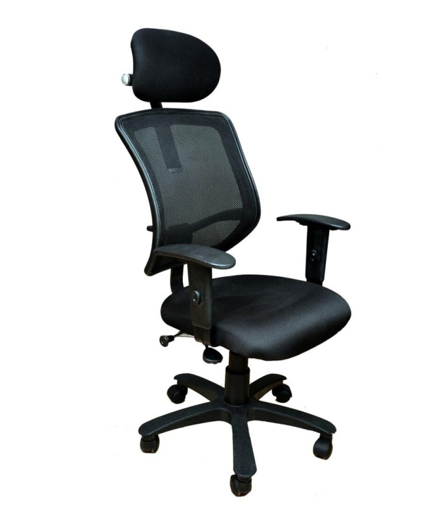 Buy Divano Black Color Office Chair DM1002 Best Prices Industrybuying