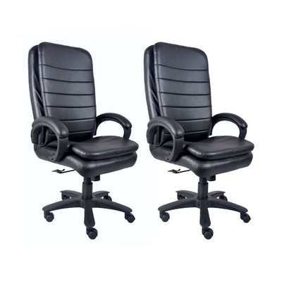 Buy DIVANO High Back Office Chairs Set Of 2 Combo 009 Best Prices Industryb