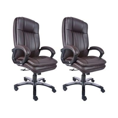 Buy DIVANO High Back Office Chairs Set Of 2 Combo 011 Best Prices Industryb