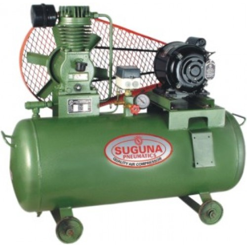 Buy suguna air compressor without motor and starter 5 hp for Air compressor motor starter