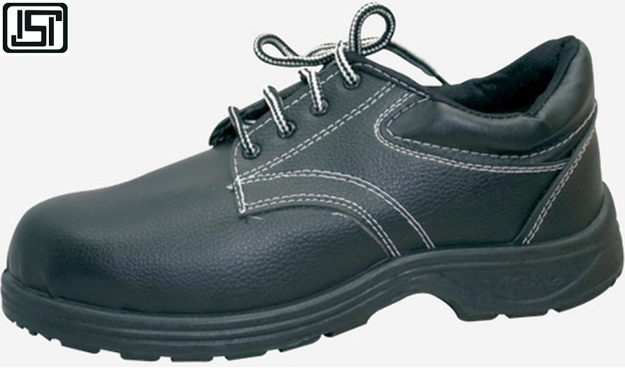 Buy Aura Eco 10 No. Black Steel Toe Safety Shoes @ Best Prices-Industrybuying