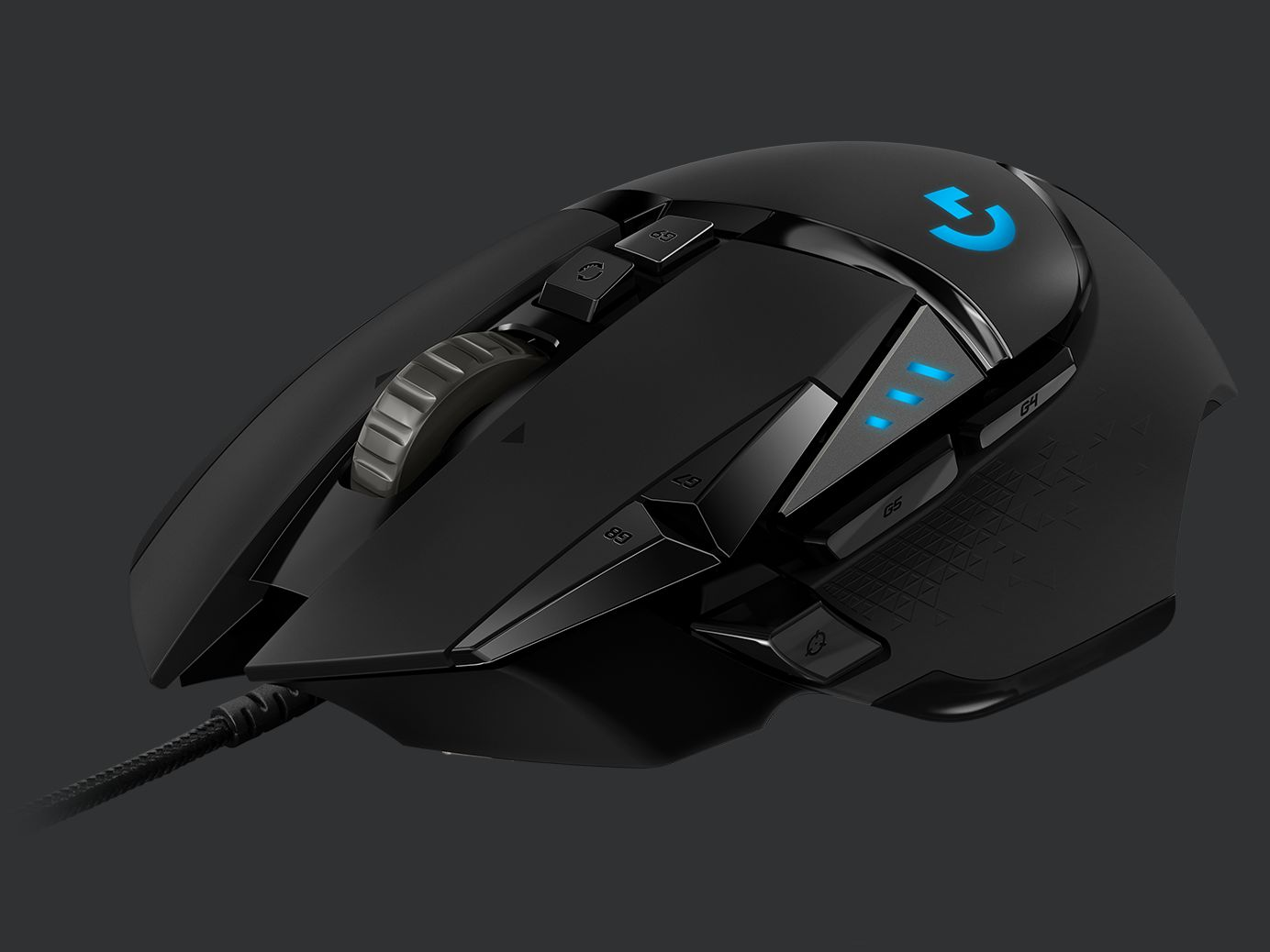 6185eaeb99c A REBORN HERO. G502 HERO features an advanced optical sensor for maximum  tracking accuracy, customizable RGB lighting, custom game ...