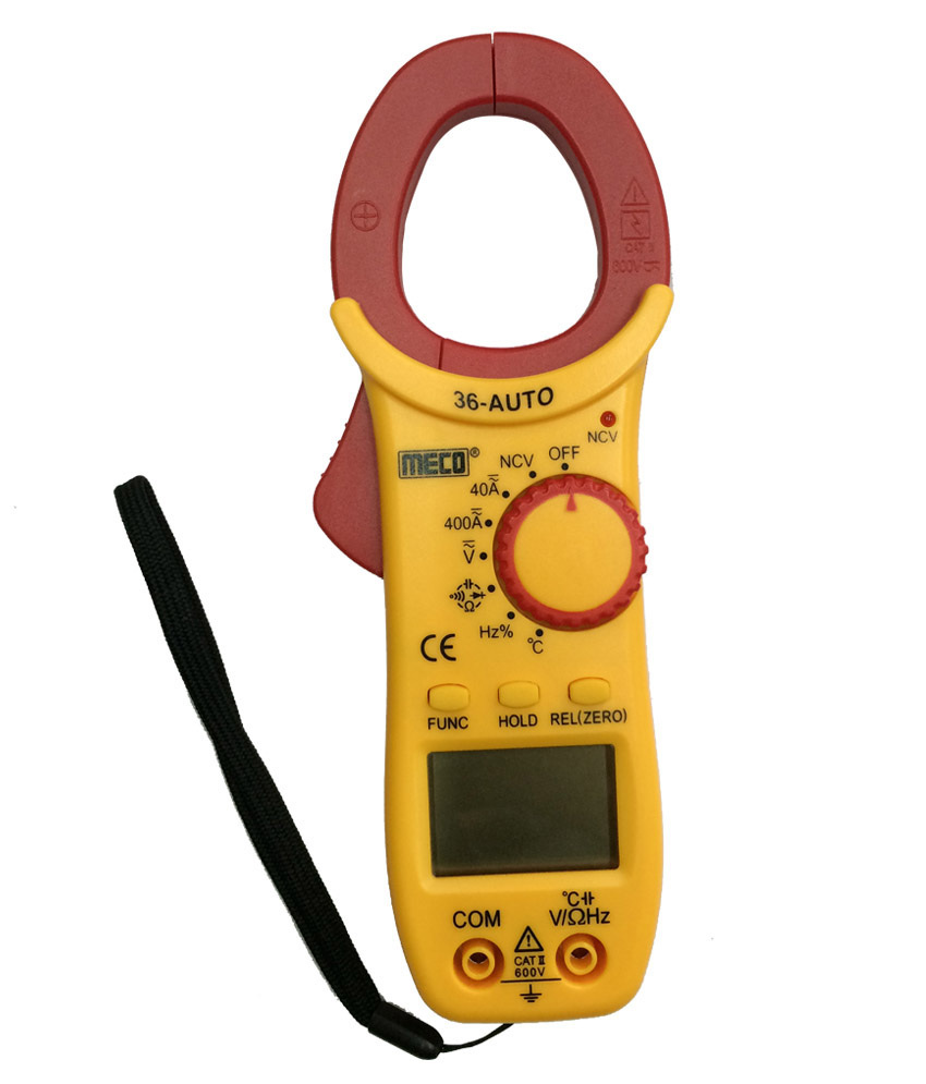 Best Clamp Meter : Buy meco auto digital ac dc clamp meter a v