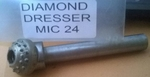 Index 24 Diamond Multi Point MIC-24 Diamond Dresser For Grinding Wheels