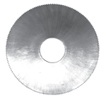 Slitting Saws With Fine Pitch Teeth With 6 Mm Thickness