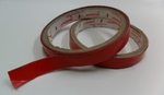 Jonson Tapes 12 Mm X 8.5 M X 0.8 Mm Red Colour VHB Tape