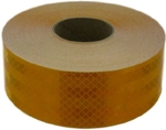 3M KE-CONSP 2 Inch X 50 Metres Yellow Colour Vehicle Marking Tape