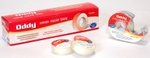 "Oddy SCTD-1833 Stationery Tape 1"" Inch With Dispenser (Set Of 5)"