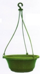 Garden Aids 10 Inch Green Hanging Pot-1Vy 10 Pcs AP-122
