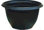 Garden Aids 10 Inch Black Corfu And Ivy Pot 20 Pcs AP-168
