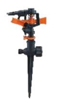 Spanco Plastic Impluse Sprinkler With Spike SP-1030