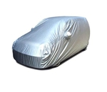 Galaxy Silver Car Body Cover For Ford Figo