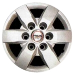 Prigan Tavera 15 Inch Bolt Fitting Wheel Cover (Set Of 4)