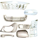 Prius Full Chrome Kit For Mahindra Quanto