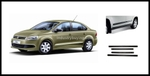 Oscar Terra Beige Side Mouldings For Volkswagen Vento