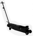 Big Bull Hydraulic Long Floor Jack With Foot Pedal 15 Ton