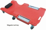 Big Bull Car Creeper With Magnetic Tool Tray