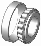 BMD 32011 Taper Roller Bearing (Inside Dia 55 Mm)