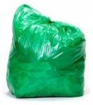 Cosmos Ecofriends 19 X 21 Inch Green Garbage Bag 60 Pcs