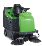 IPC Ride On Sweeper With Battery & Charger 1280 E