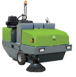 IPC Ride On Sweeper With Battery & Charger 191 E