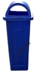 Scope 60 L Blue Half Moon Dustbin