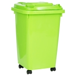 Mr International Sulo Dustbin Lime Green 120 Ltr.