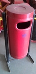 Aakar FRP Dustbin Round Big (With Stand)