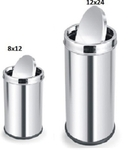Parasnath Dustbin Swing Bin Stainless Steel Dustbin 8x12 Inch , 12x24 Inch