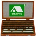 Advance 112 Pcs. Gauge Block Set