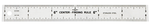 Kristeel Center Finding Ruler 150 Mm CFR-6 (Pack Of 10)