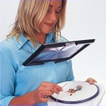 Kawachi Table Reading Magnifying Glass Desk With Neck Cord K130