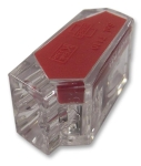 Multicomp CONNECTOR PUSH-IN WIRE 2WAY RED - EL_CO0_1558625