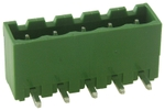 Multicomp PIN HEADER, 5 POSITION, 5MM - EL_TE__1539284