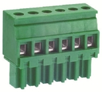 Multicomp TERMINAL BLOCK PLUGGABLE, 10 POSITION, 24-16AWG, 3.5MM - EL_TE__1539629