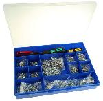 RS Pro 1400 Pcs. Steel Screw And Bolt Kit
