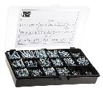 RS Pro 3165 Pcs. Steel Screw And Bolt Kit