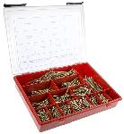 RS Pro 845 Piece Steel Screw/Bolt Kit 3.5 Mm 4 Mm 5 Mm 6 Mm ULTKIT